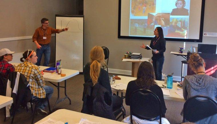 trauma informed caregiving training